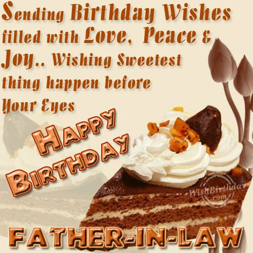 Happy Birthday Dear Father-in-law