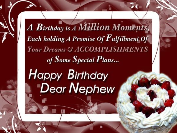 Many Happy Returns Of The Day My Dear Nephew