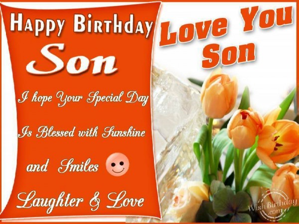 Many Many Returns Of The Day My Son