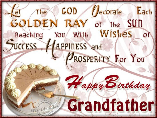 Many Happy Returns Of The Day Grandfather