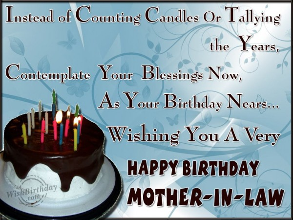 Happy Birthday Dear Mother-in-law