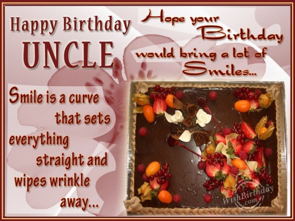 Best Wishes For Dear Uncle