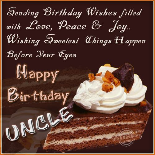 Wishing Happy Returns To A Wonderful Uncle