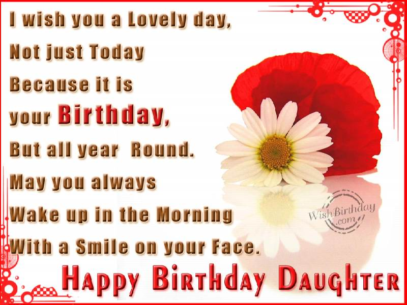 "Images Birthday Wishes For Daughter Daughter/"">birthday Wishes"