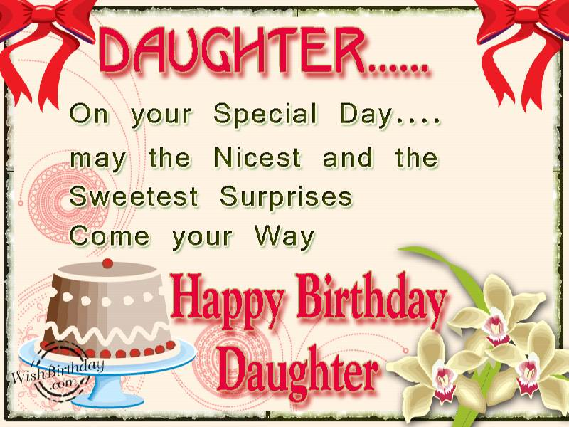 images of birthday wishes for daughter - photo #29