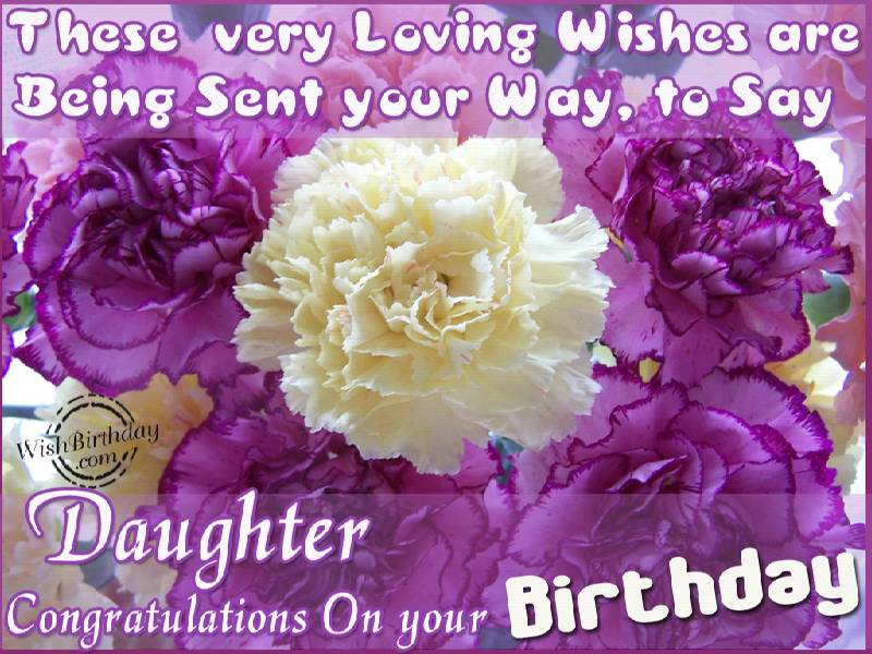 Birthday wishes for daughter from parents m4hsunfo