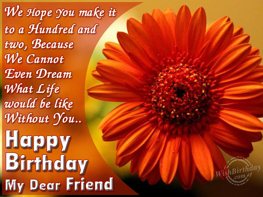 Birthday wishes for friend birthday images pictures
