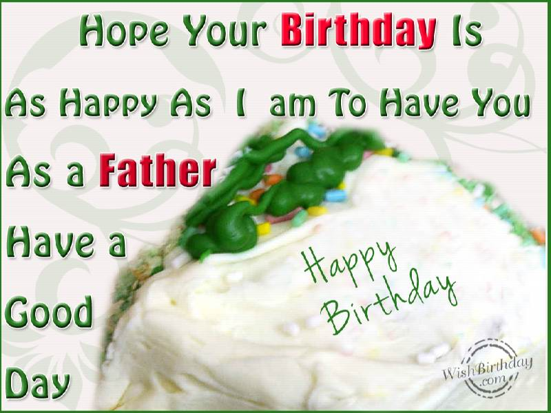 birthday wishes for father - photo #14