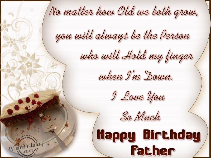 Birthday Wishes For Father Birthday Images Pictures – Birthday Greeting for Dad