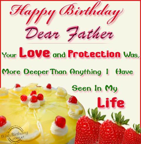 birthday wishes for father - photo #35