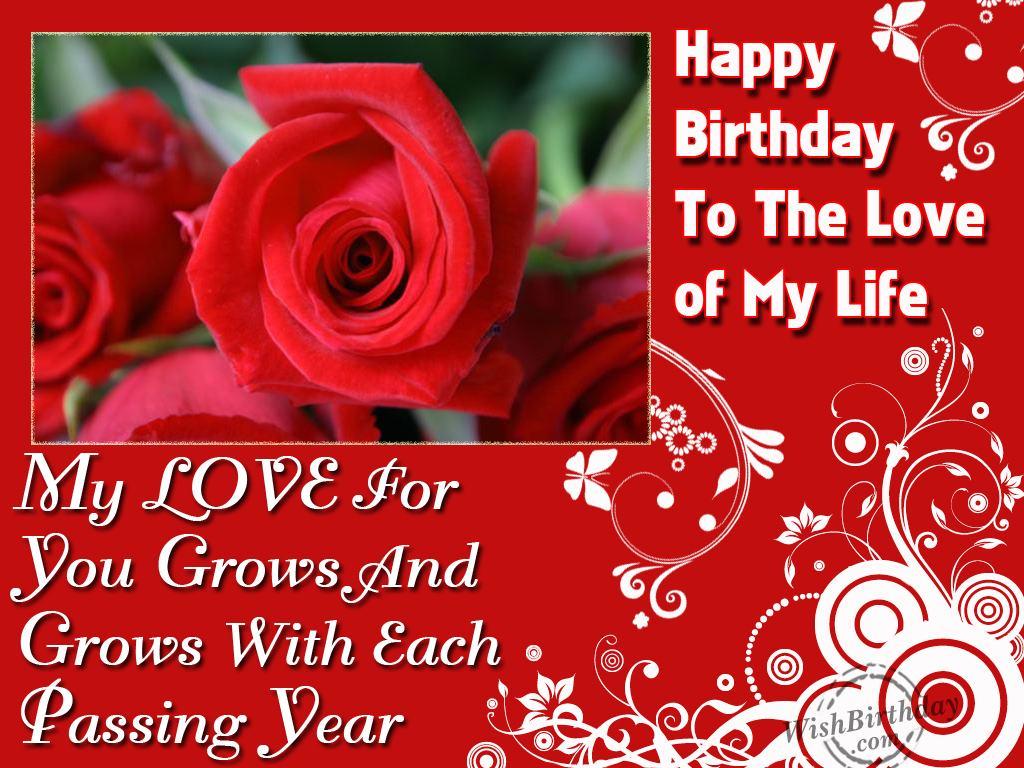 Wishes Birthday For Boyfriend