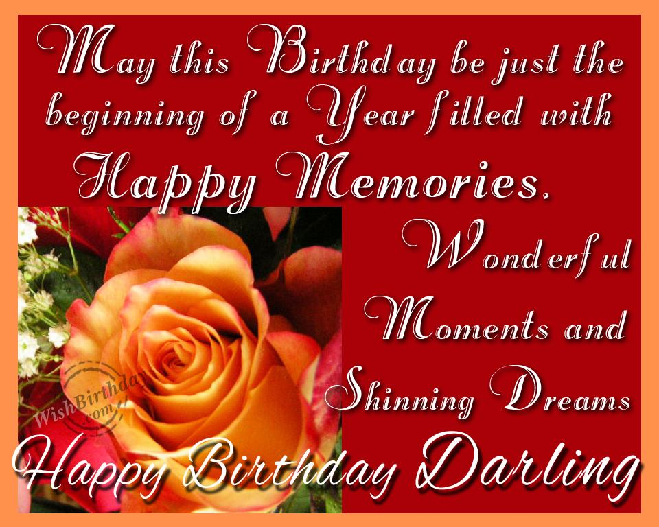 Wishing Happy Birthday To You My Sweetheart - WishBirthday.com