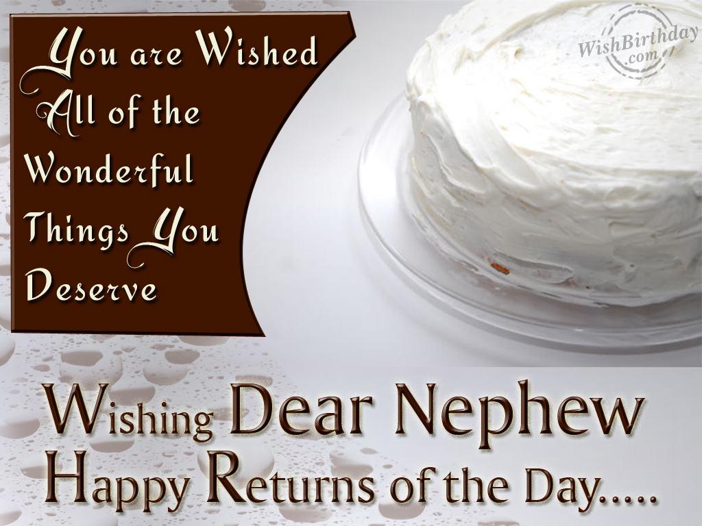Happy birthday to my nephew quotes on quotestopics happy birthday wishes to my nephew 1024x768 m4hsunfo