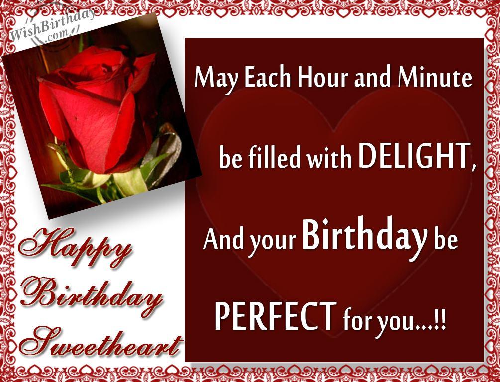 Many Happy Returns To A Perfect Partner WishBirthday – Husband Birthday Wishes Greetings