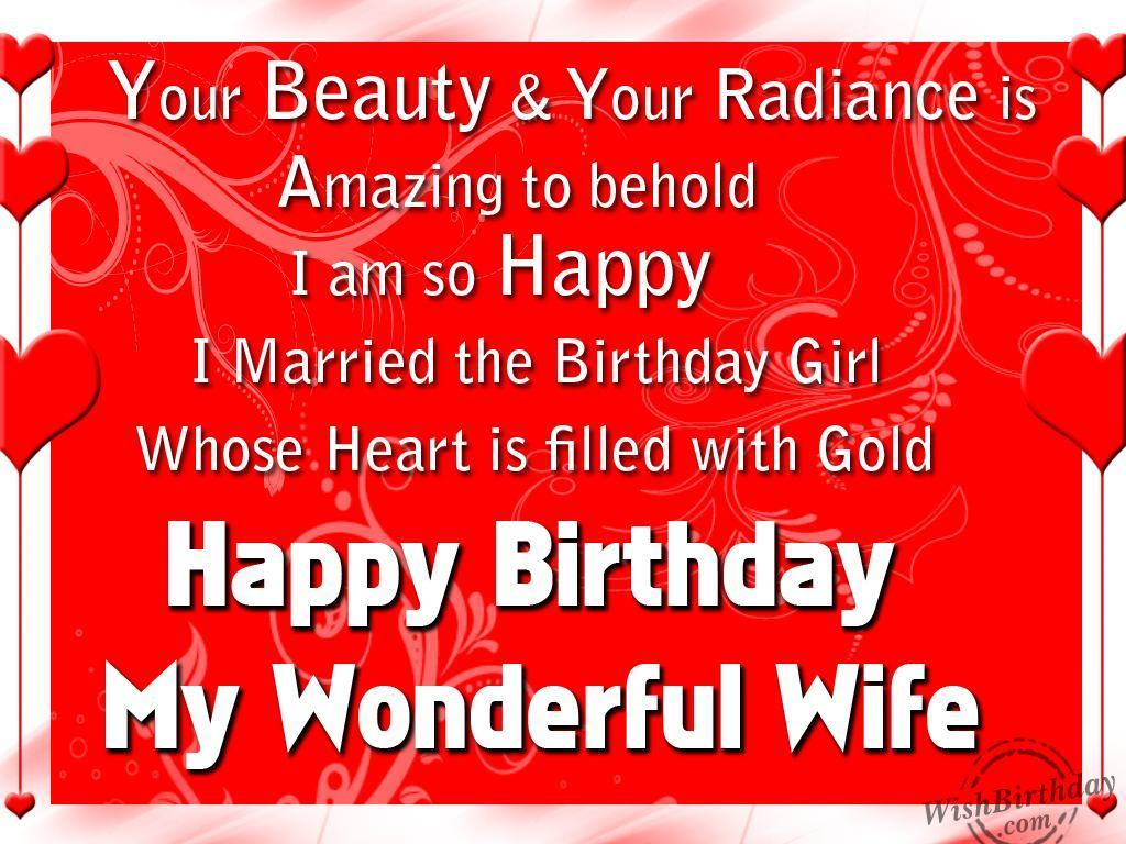 Worksheet. Birthday Wishes For Wife  Birthday Images Pictures