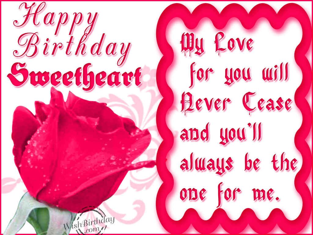 Birthday wishes for boyfriend birthday images pictures happy birthday sweetheart kristyandbryce Choice Image