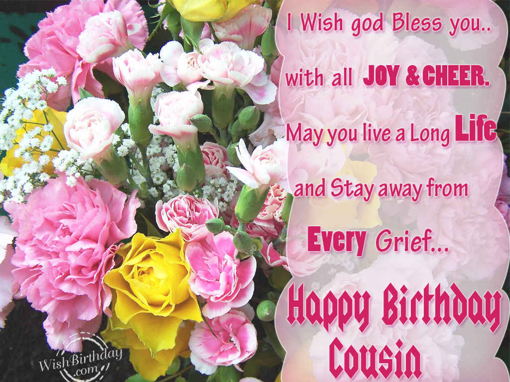 Birthday Wishes For Cousin Birthday Images Pictures – Live Birthday Greetings