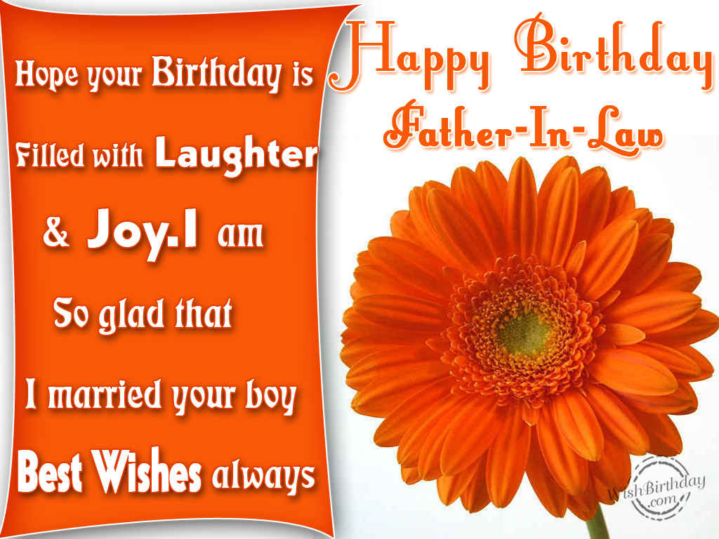 Birthday wish to father in law from daughter in law honey birthday wish to father in law from daughter in law m4hsunfo
