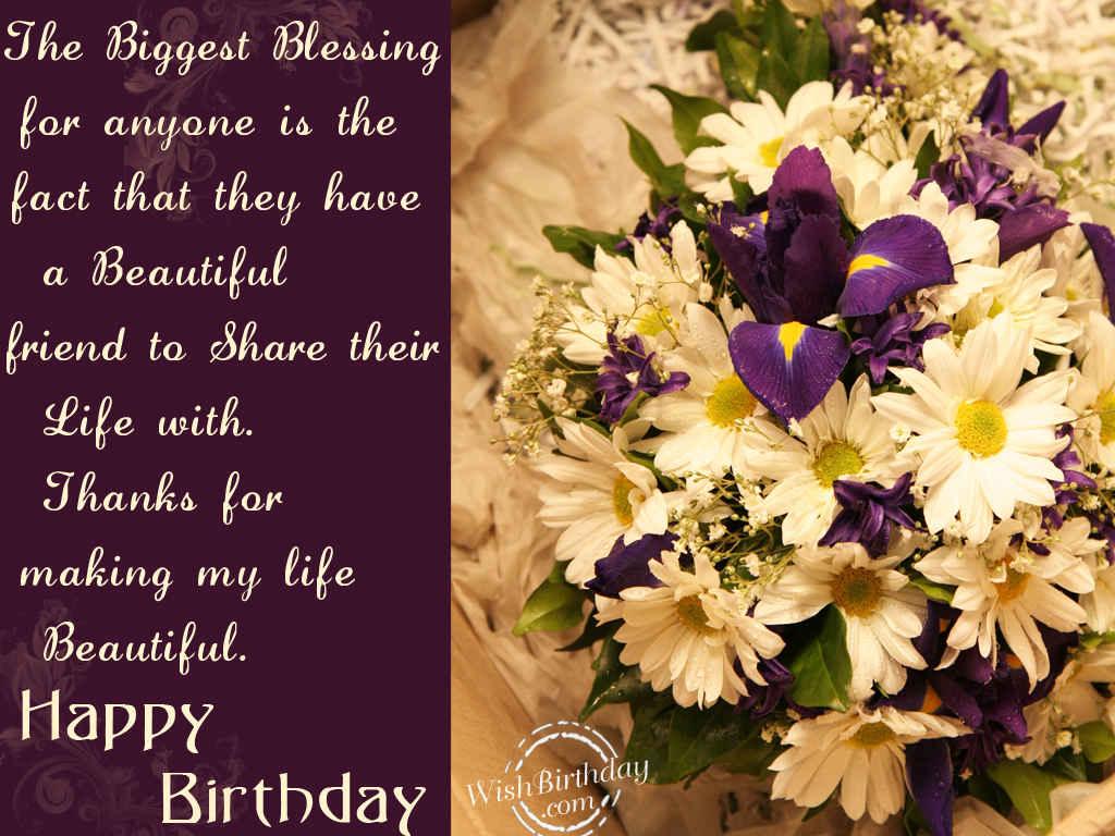 happy birthday beautiful friend  wishbirthday