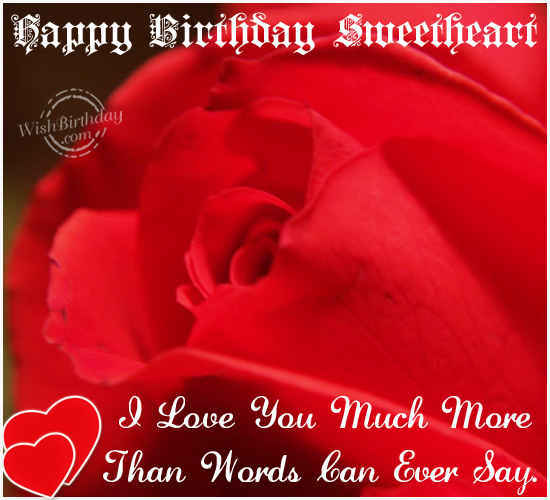 Goodnight Sweetheart Quotes Happy Birthday Sweethe...