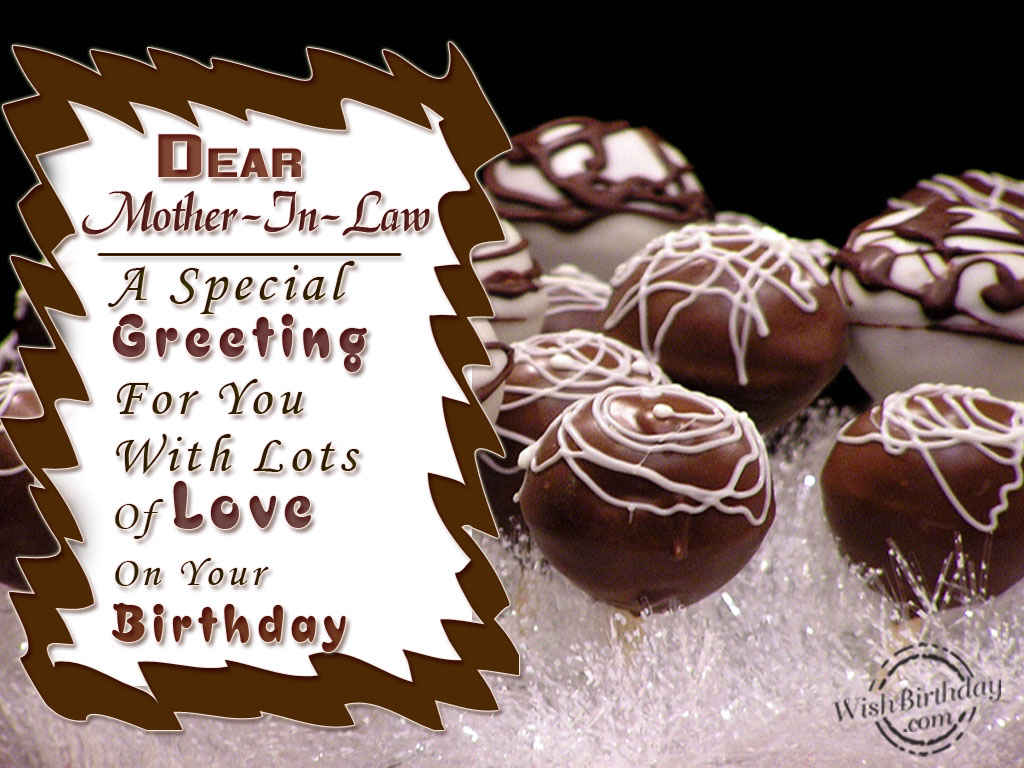 A Special Greeting For Mother In Law Wishbirthday