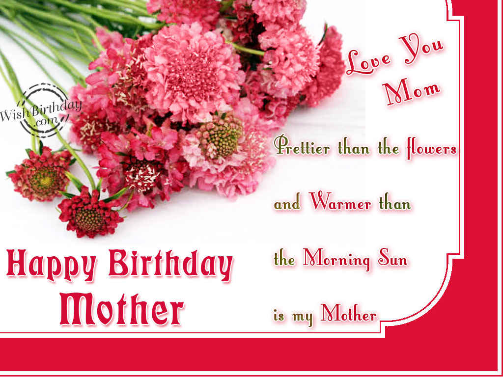 Happy Birthday Mother WishBirthday – Birthday Greetings for Mother