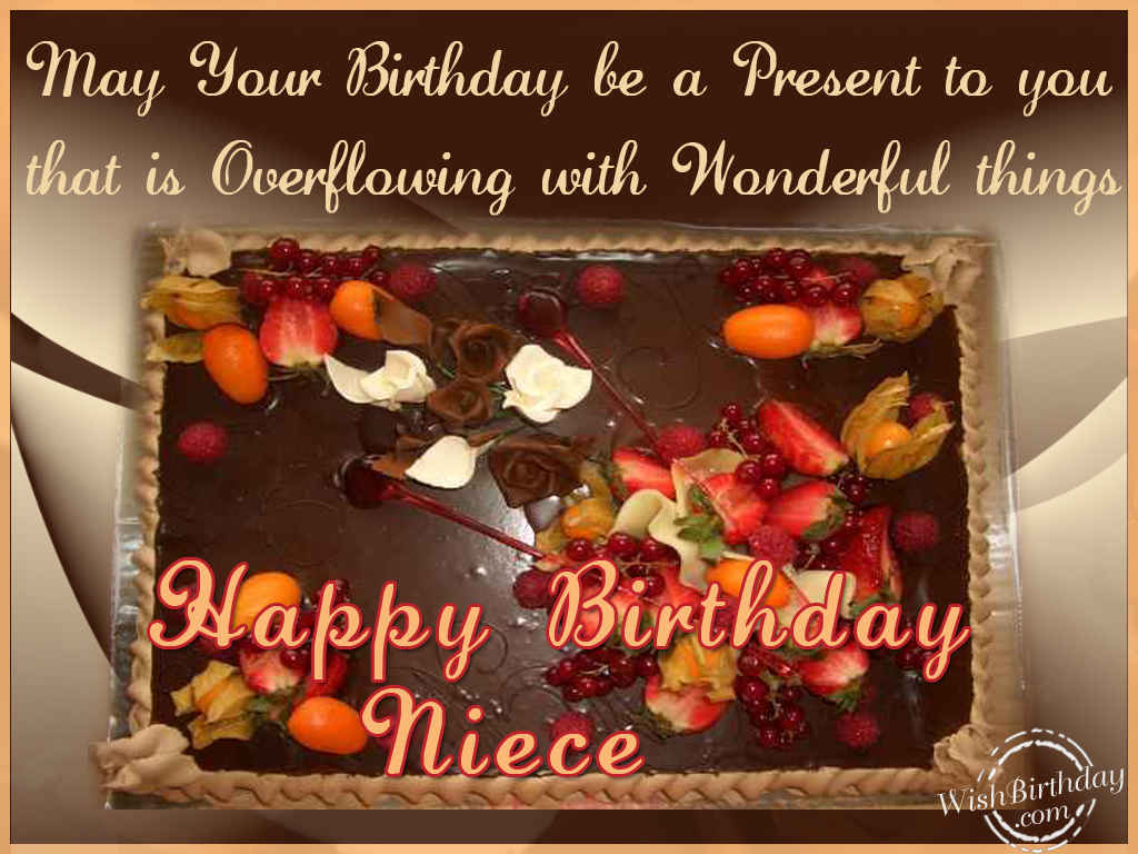 Birthday wishes for niece birthday images pictures may your birthday be a present to you kristyandbryce Choice Image