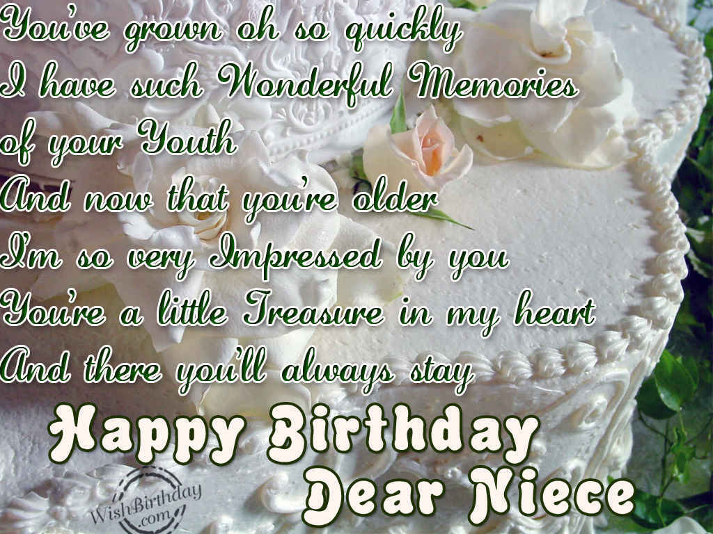 Happy Birthday Dear Niece Wishbirthday Com Happy Birthday To Niece Wishes