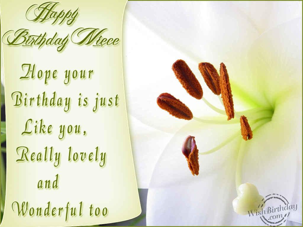 Happy Birthday Lovely Niece Wishbirthday Com Happy Birthday Wishes To A Niece