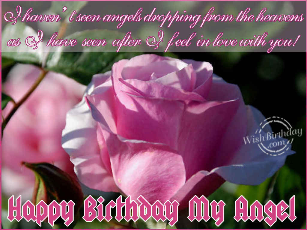 Happy birthday my angel wishbirthday happy birthday my angel m4hsunfo