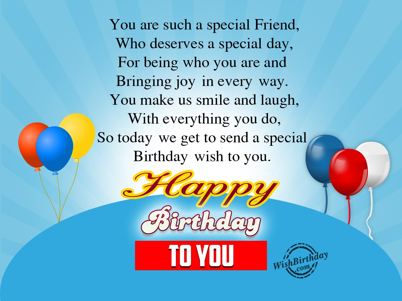 Sending special wishes to my dear friend wishbirthday sending special wishes to my dear friend m4hsunfo