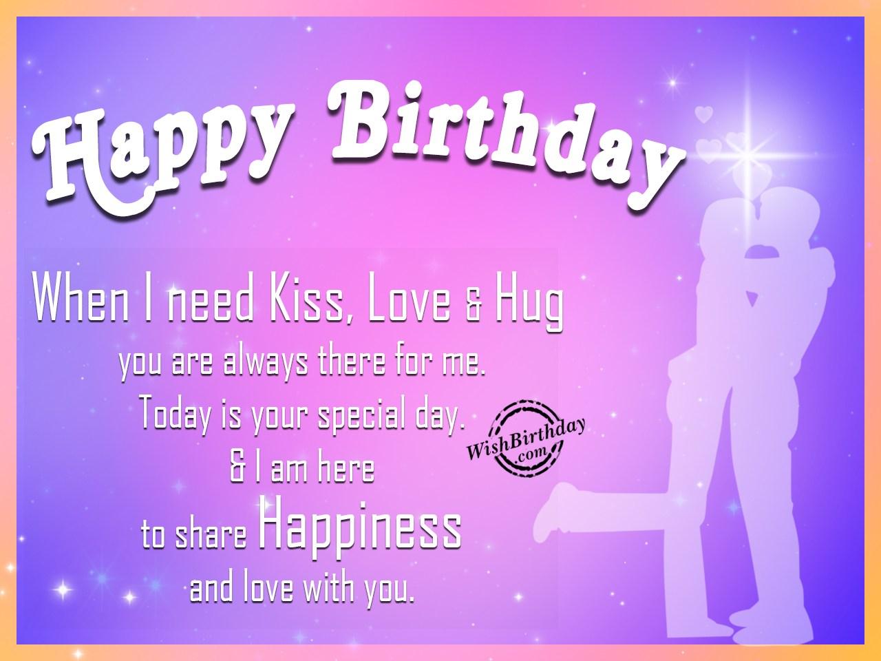 Wishing Happy Birthday To My Love Wishbirthday