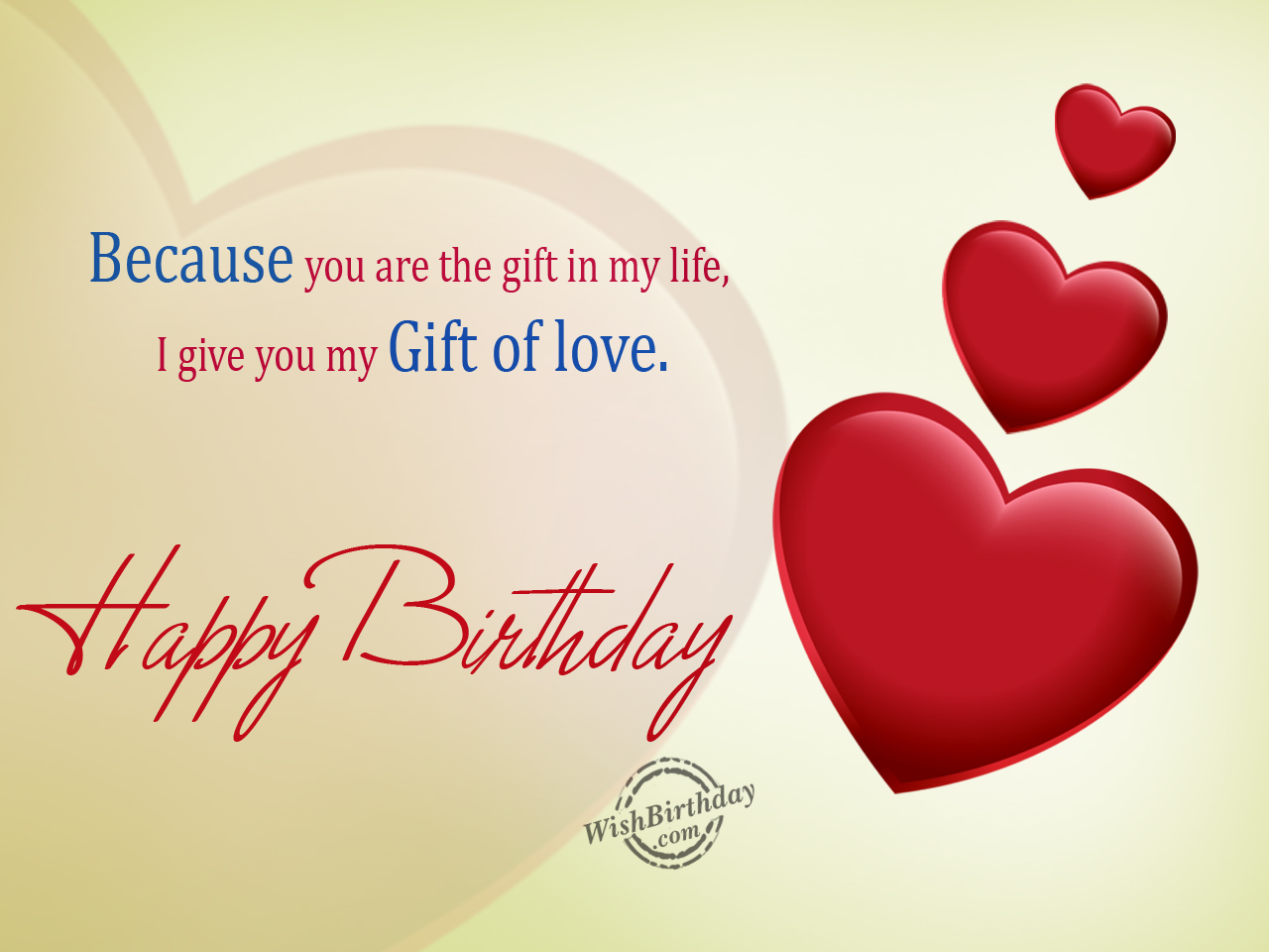 Happy Birthday my Life