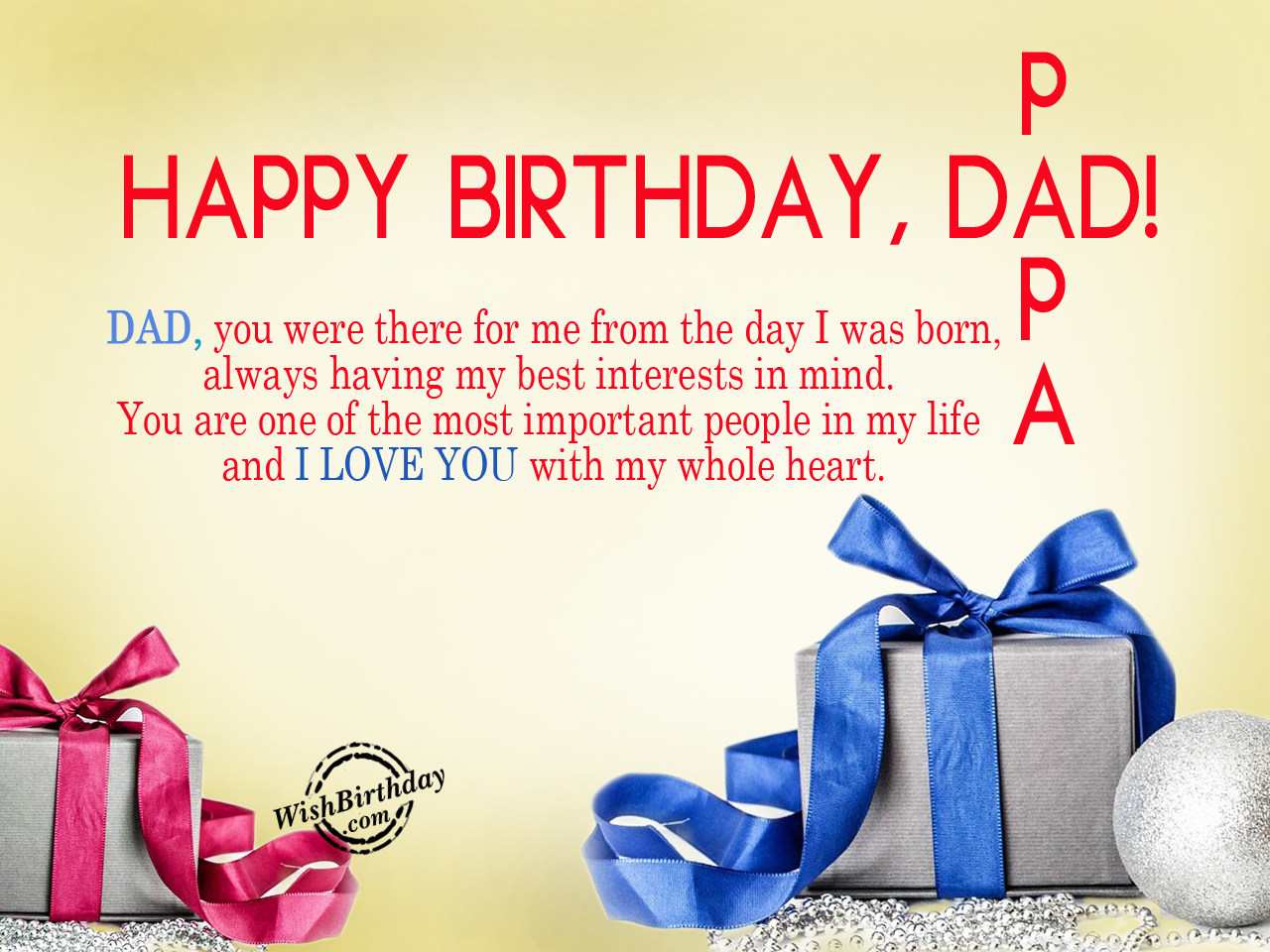 happy birthday dad essays My father birthday it's my habit to  i was very happy because he also helped me to cook the dishes  popular essays  supply and management.