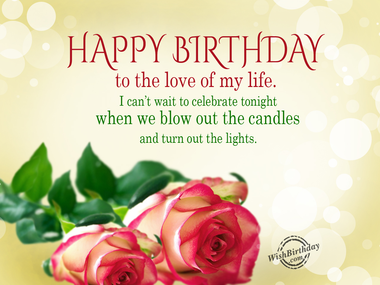 Happy Birthday Messages List Birthday Quotes Birthday Wishing Happy Birthday To My Lovely