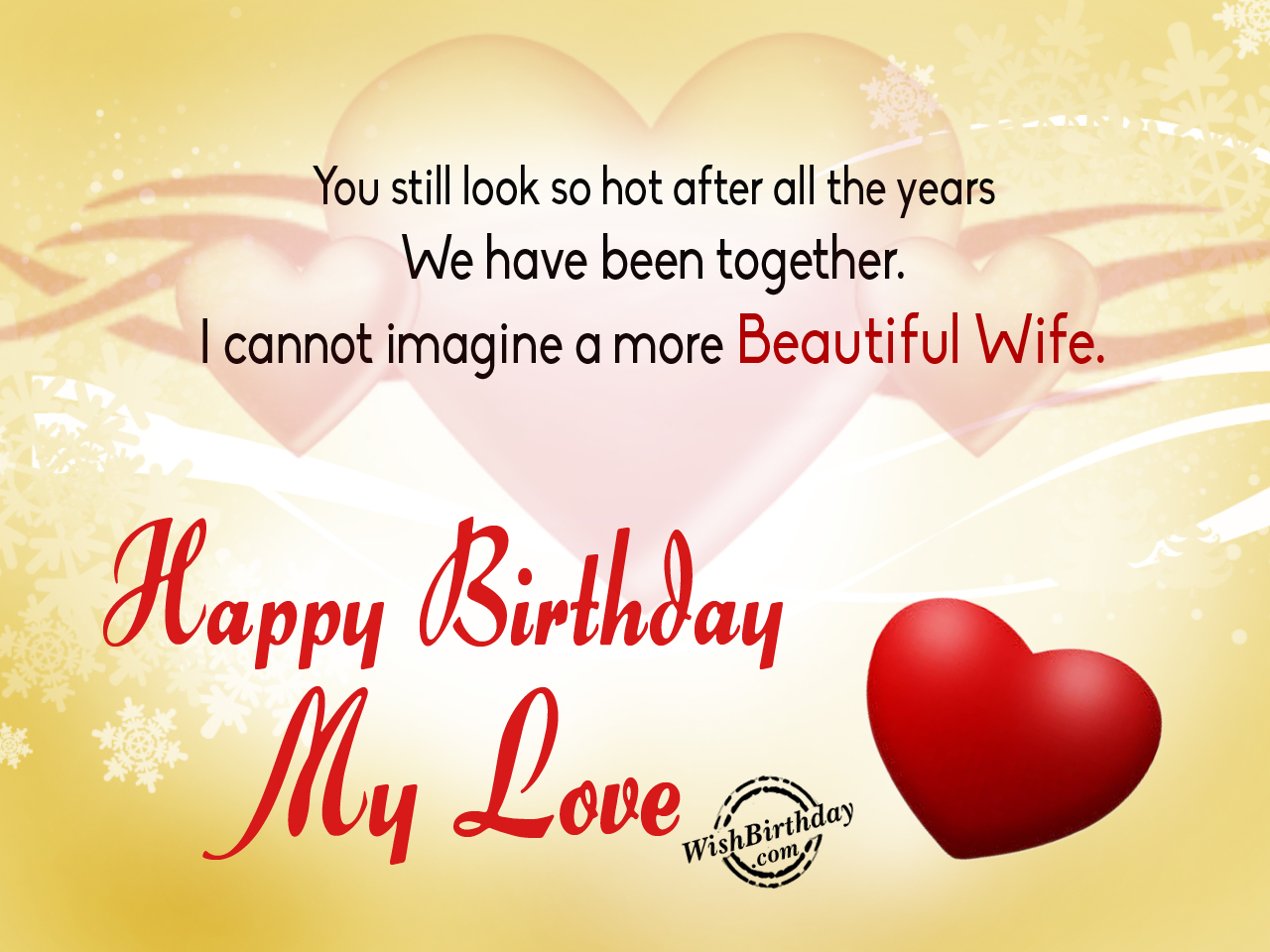 Birthday Wishes For Wife Birthday Images Pictures – Birthday Greetings for Wife