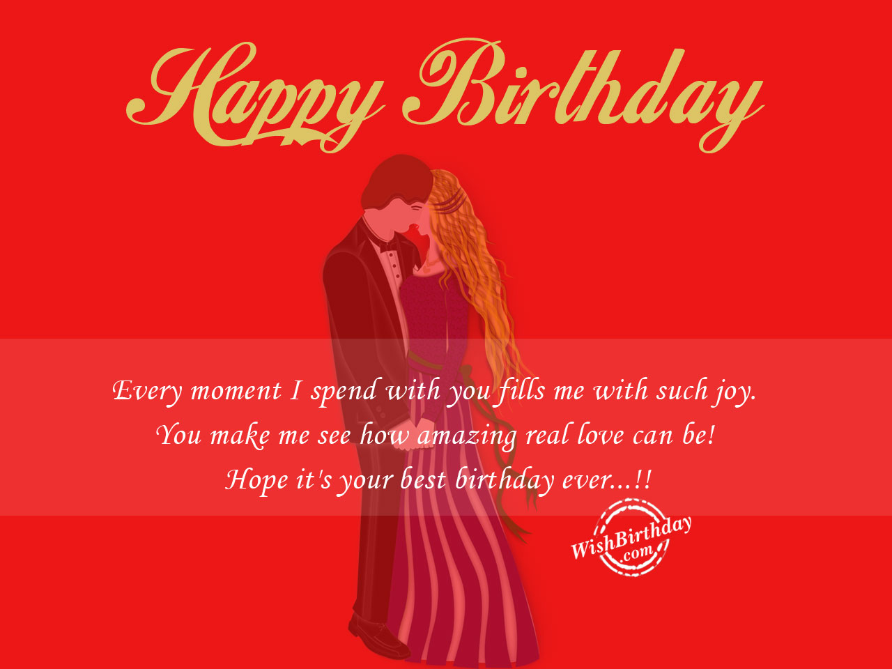 Free Download With Greetings Wishes Cards Happy Birthday For Boyfriend