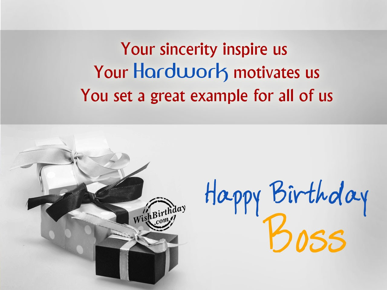 Birthday Wishes For Manager ~ Birthday wishes for boss images pictures