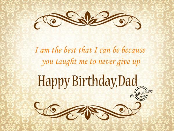 I am the best,Happy Birthday-WB6