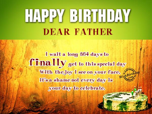 I wait long time,Happy Birthday-WB8