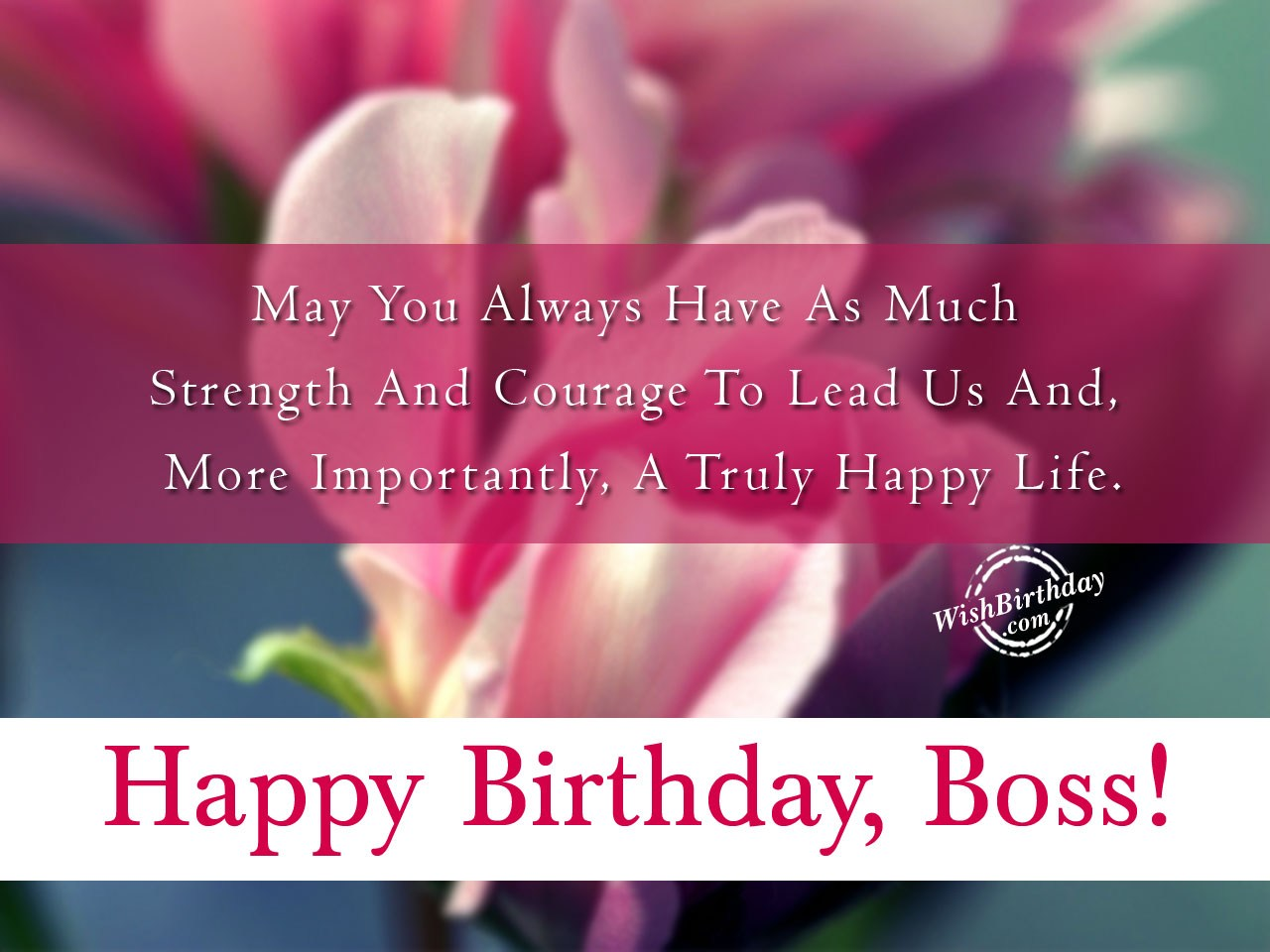 Birthday wishes for boss birthday images pictures a truly happy life m4hsunfo