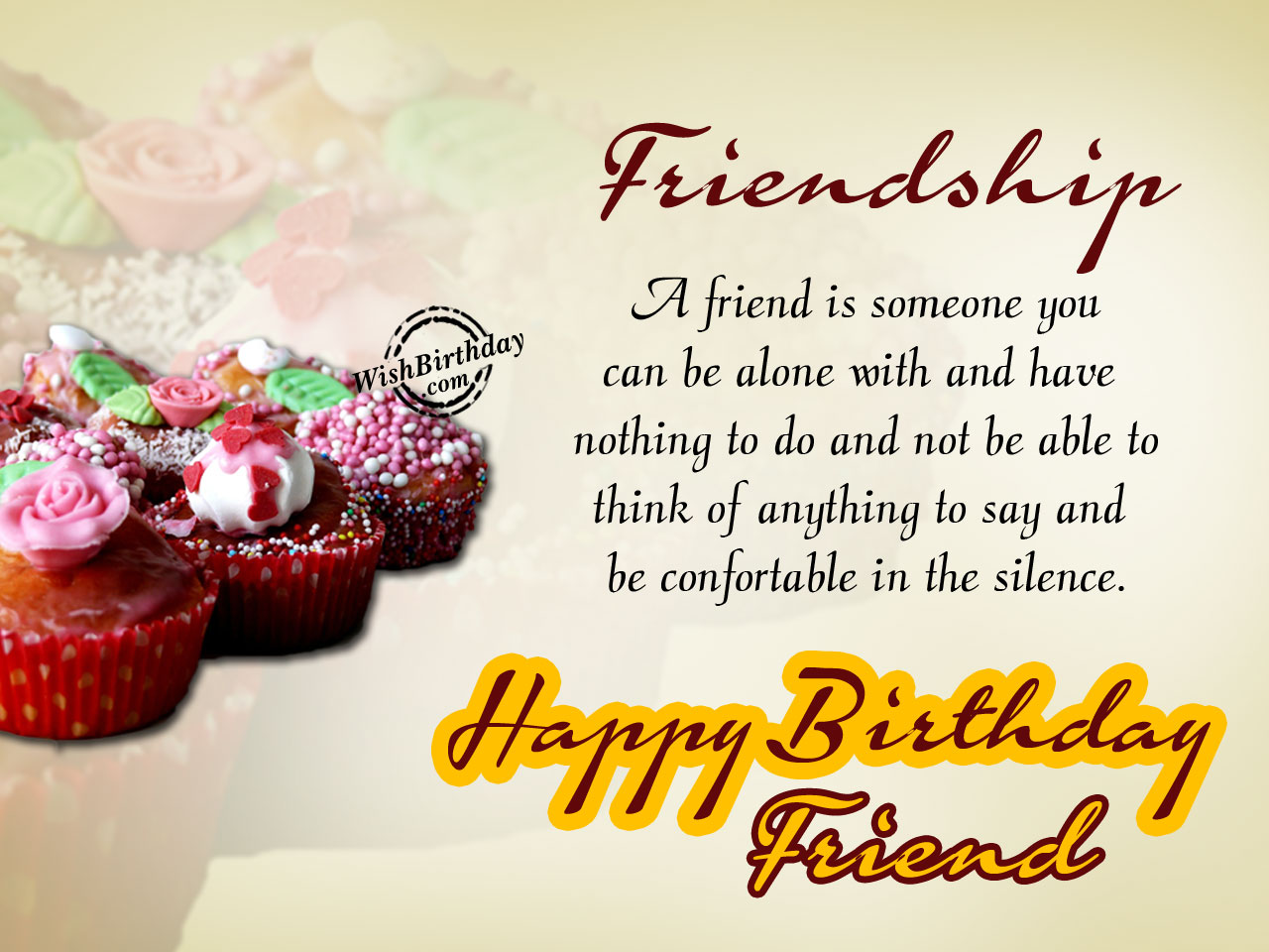 Birthday Wishes For A Friend Images ~ Birthday wishes for friend images pictures