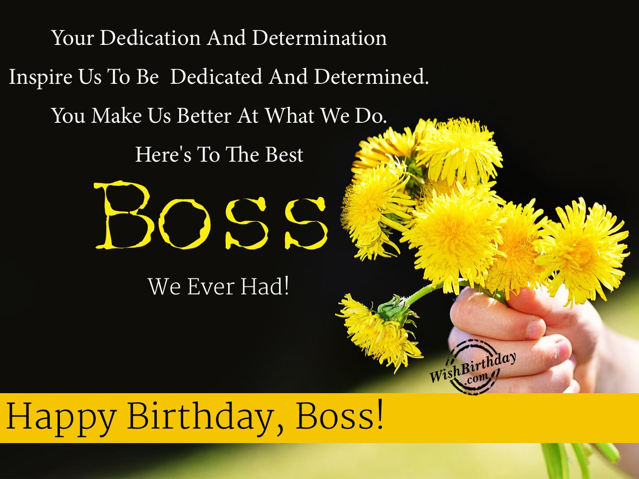 Birthday wishes for boss birthday images pictures heres to the best boss we ever had bookmarktalkfo
