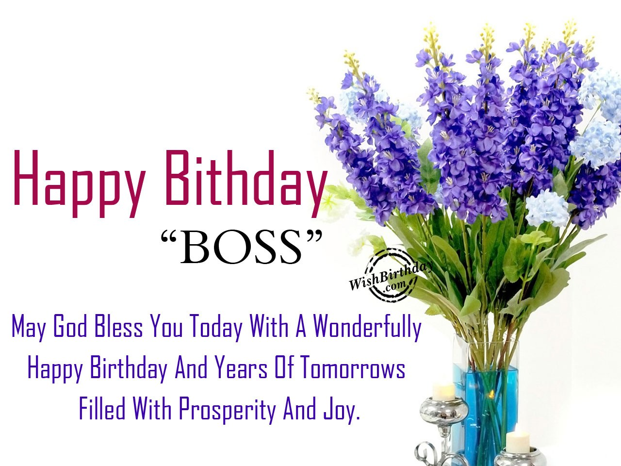 Image Result For Birthday Greetings Boss