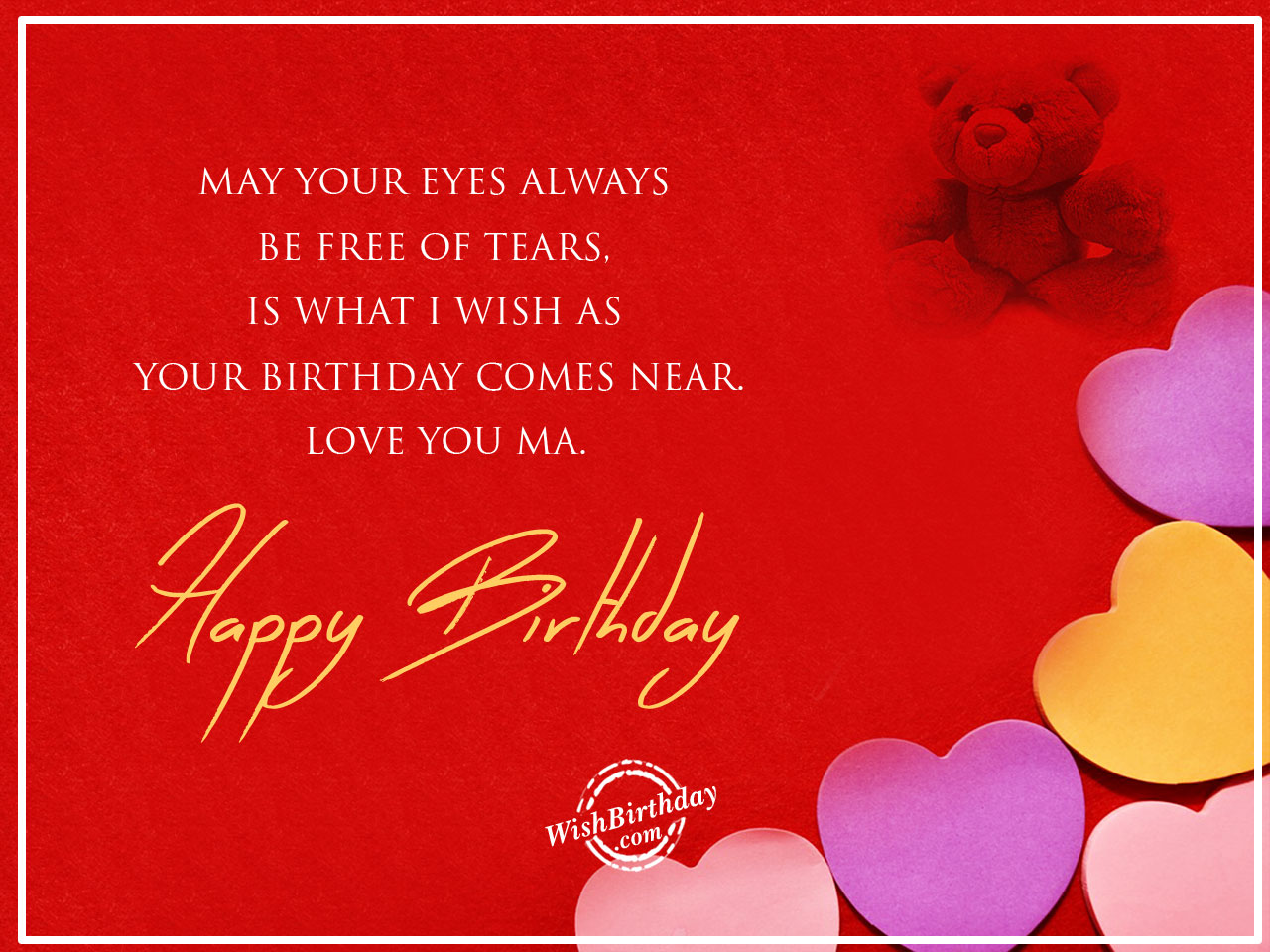 Birthday wishes for mother birthday images pictures take care yourself mom happy birthday m4hsunfo
