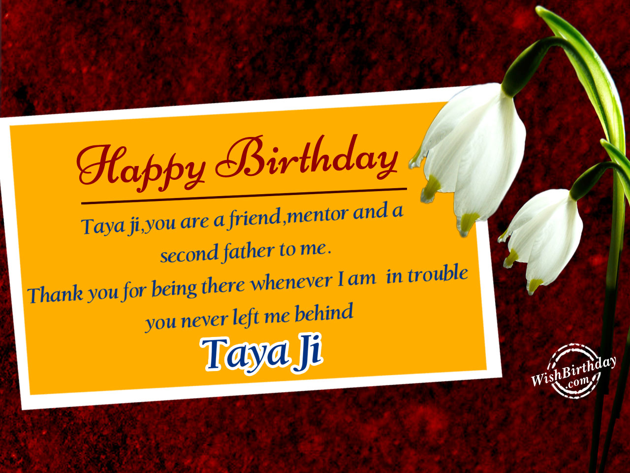Birthday Wishes For Taya Ji - Birthday Images, Pictures