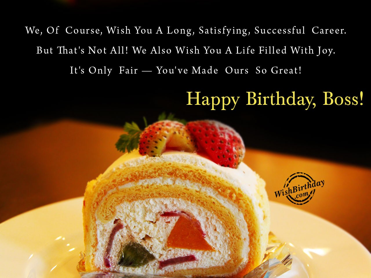 Birthday wishes for boss birthday images pictures wish a life filled with joy m4hsunfo