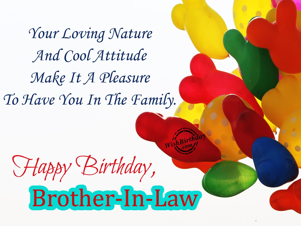 You Are My Brother Happy Birthday Brother In Law Wishbirthday Com