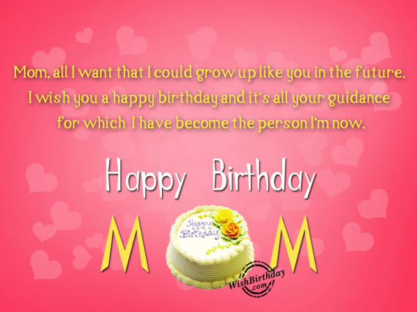 You Are The Best Mom,Happy Birthday