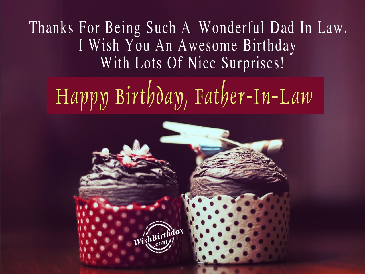 Happy birthday father in law wishbirthday happy birthday father in law m4hsunfo